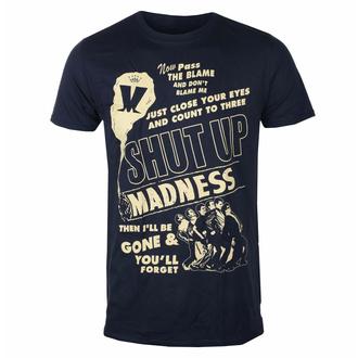tričko pánské Madness - Shut Up NAVY - ROCK OFF, ROCK OFF, Madness