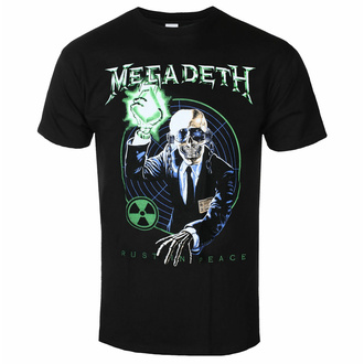 tričko pánské Megadeth - Vic Target RIP Anniversary Uni BL - ROCK OFF, ROCK OFF, Megadeth