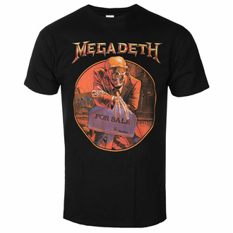 tričko pánské Megadeth - Peace Sells… Tracklist BL - ROCK OFF, ROCK OFF, Megadeth