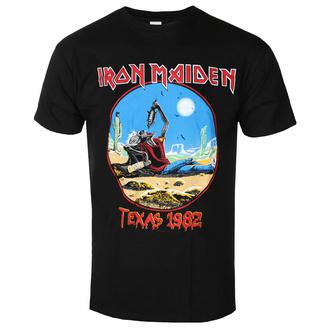 tričko pánské Iron Maiden - The Beast Tames Texas BL - ROCK OFF, ROCK OFF, Iron Maiden
