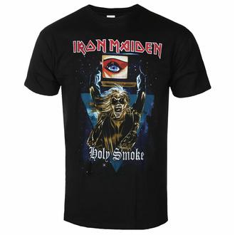 tričko pánské Iron Maiden - Holy Smoke Space Triangle BL - ROCK OFF, ROCK OFF, Iron Maiden
