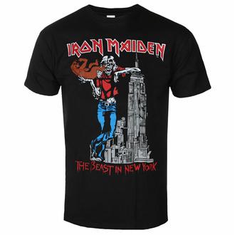 tričko pánské Iron Maiden - The Beast In New York BL - ROCK OFF, ROCK OFF, Iron Maiden