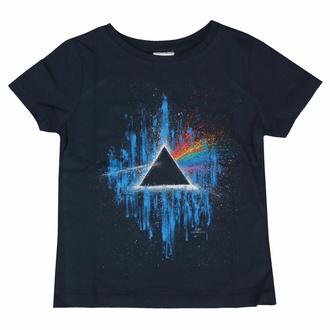 tričko dětské Pink Floyd - DSOTM Blue Splatter NAVY - ROCK OFF, ROCK OFF, Pink Floyd