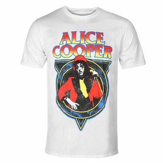 tričko pánské Alice Cooper - Snakeskin WHT - ROCK OFF, ROCK OFF, Alice Cooper