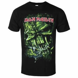 tričko pánské Iron Maiden - Final Frontier Green BL - ROCK OFF, ROCK OFF, Iron Maiden