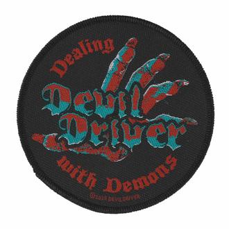 nášivka Devildriver - Dealing With Demons - ROCK OFF, ROCK OFF, Devildriver