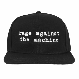 kšiltovka Rage against the machine - Logo Embroidered Black, NNM, Rage against the machine