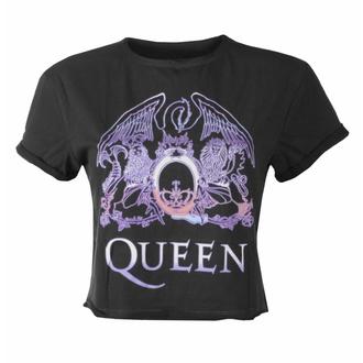tričko dámské (top) QUEEN - NEON SIGN - CHARCOAL - AMPLIFIED - ZAV430G23_CC
