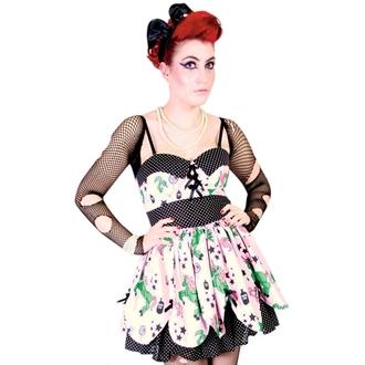 šaty dámské HELL BUNNY - Zombie Petal Dress - Pink, HELL BUNNY