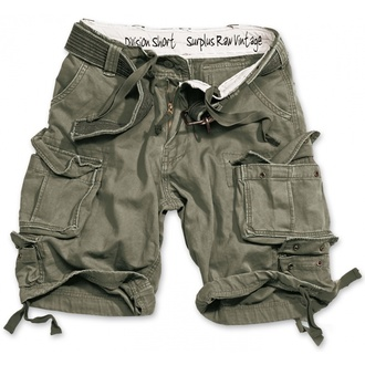 kraťasy SURPLUS - DIVISION SHORT - OLIV, SURPLUS