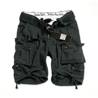 kraťasy SURPLUS - DIVISION SHORT - BLACK, SURPLUS