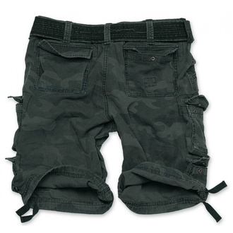 kraťasy SURPLUS - DIVISION SHORT - NIGHT CAMO, SURPLUS