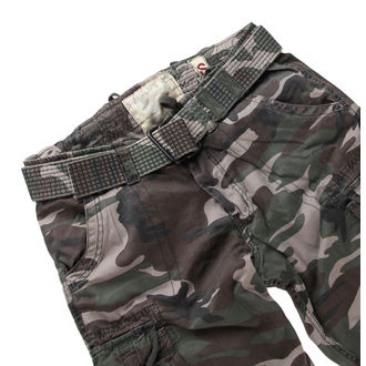 kalhoty pánské SURPLUS - PREMIUM VINTAGE TR. - WOODLAND - 05-3597-62