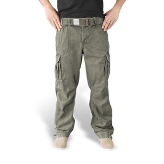 kalhoty pánské SURPLUS - PREMIUM VINTAGE TR. - OLIV - 05-3597-61