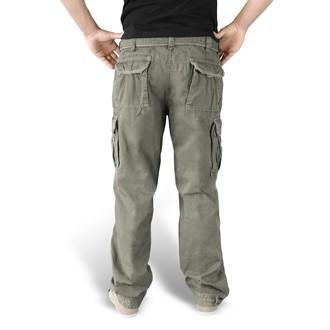 kalhoty pánské SURPLUS - PREMIUM VINTAGE TR. - OLIV