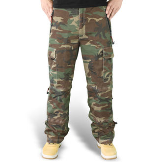 kalhoty SURPLUS - Trekking Trouser - WOODLAND, SURPLUS
