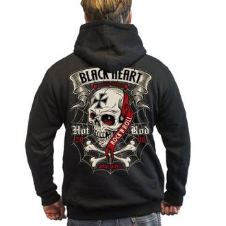 mikina pánská BLACK HEART - CRUSTY DEMONS - BLACK, BLACK HEART