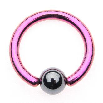 piercingový šperk - Metallic Purple - 5mm - IV138