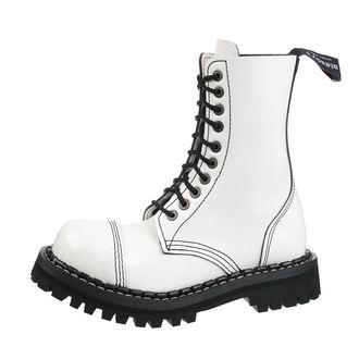 boty STEADY´S - 10 dírkové - White, STEADY´S