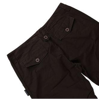 kalhoty 3/4 dámské bokové FUNSTORM - CONNIE - 04 HNĚDÁ