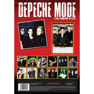 kalendář na rok 2022 - DEPECHE MODE, NNM, Depeche Mode