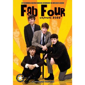 kalendář na rok 2022 - THE BEATLES, NNM, Beatles