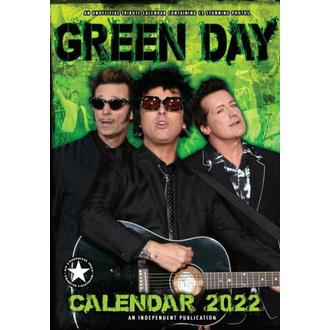 kalendář na rok 2022 - GREEN DAY, NNM, Green Day