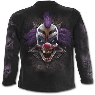 tričko pánské s dlouhým rukávem SPIRAL - MADCAP - Black, SPIRAL