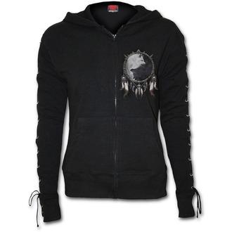 mikina dámská SPIRAL - WOLF CHI - Black, SPIRAL