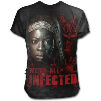 tričko pánské SPIRAL - MICHONNE - ALL INFECTED - Walking Dead - Black, SPIRAL