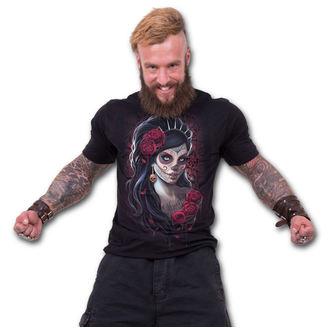 tričko pánské SPIRAL - DAY OF THE DEAD - Black, SPIRAL