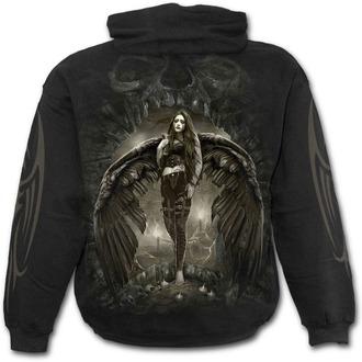 mikina pánská SPIRAL - DARK ANGEL - Black, SPIRAL