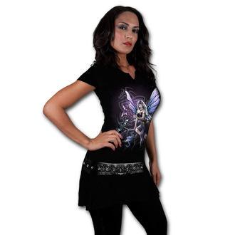 šaty dámské SPIRAL - DRAGON KEEPER - Black, SPIRAL