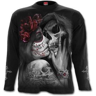 tričko pánské s dlouhým rukávem SPIRAL - DEAD KISS - Black, SPIRAL