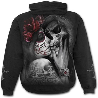 mikina pánská SPIRAL - DEAD KISS - Black, SPIRAL