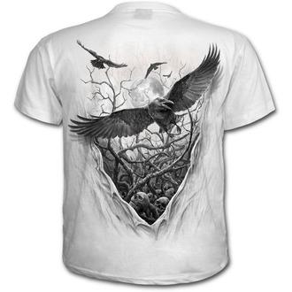 tričko pánské SPIRAL - ROOTS OF HELL - White - E023M113