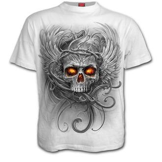 tričko pánské SPIRAL - ROOTS OF HELL - White, SPIRAL