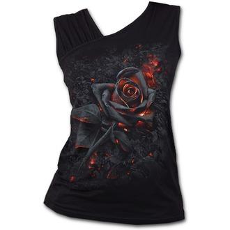 tílko dámské SPIRAL - BURNT ROSE - Black, SPIRAL