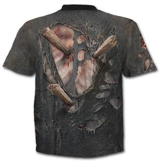 tričko pánské SPIRAL - ZOMBIE WRAP - Black, SPIRAL