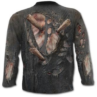 tričko pánské s dlouhým rukávem SPIRAL - ZOMBIE WRAP - Black, SPIRAL