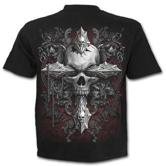 tričko pánské SPIRAL - CROSS OF DARKNESS -  Black, SPIRAL