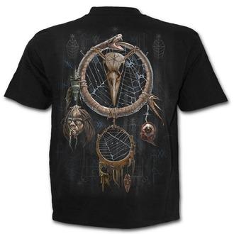 tričko pánské SPIRAL - VOODOO CATCHER - Black, SPIRAL