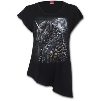 tričko dámské SPIRAL - DARK UNICORN, SPIRAL