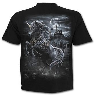 tričko pánské SPIRAL - DARK UNICORN - Black, SPIRAL