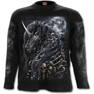 tričko pánské s dlouhým rukávem SPIRAL - DARK UNICORN, SPIRAL