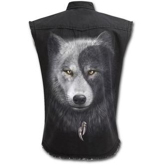 košile pánská bez rukávů (vesta) SPIRAL - WOLF CHI, SPIRAL