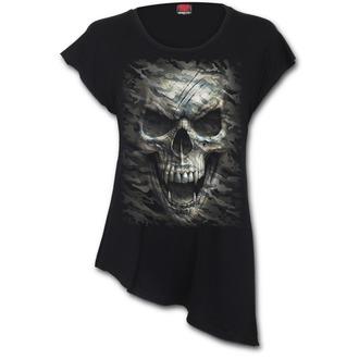 tričko dámské (tunika) SPIRAL - CAMO-SKULL, SPIRAL