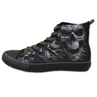 boty pánské SPIRAL - CAMO-SKULL - Sneakers