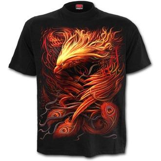 tričko pánské SPIRAL - PHOENIX ARISEN - Black, SPIRAL