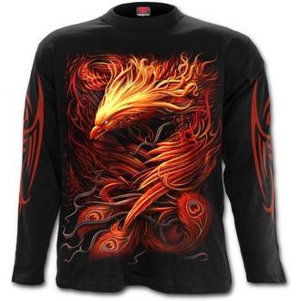 tričko pánské s dlouhým rukávem SPIRAL - PHOENIX ARISEN - Black, SPIRAL